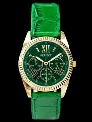 Damski zegarek PERFECT E621 - green zp755c