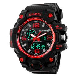 ZEGAREK MĘSKI sportowy SKMEI 1155 S-SHOCK red - RED