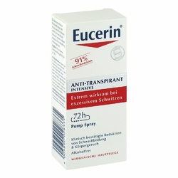 Eucerin Antyperspirant Intensive Spray 72h