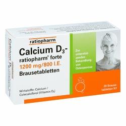 Calcium D3 ratiopharm forte Brausetabl.