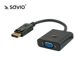 SAVIO ADAPTER DISPLAYPORT - VGA CL-90