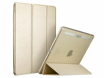 Etui ESR Smart Case iPad Air 2 Yippee Plus Series Złote +Szkło Alogy - Złoty