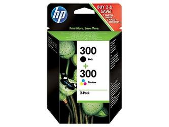 Oryginalny zestaw HP Combo Pack 300