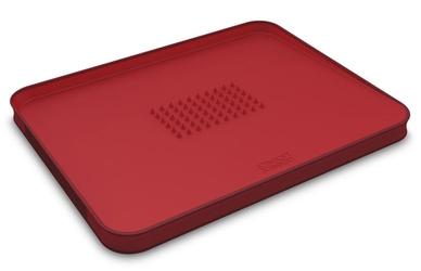 Deska duża czerwona CutCarve Plus Joseph Joseph