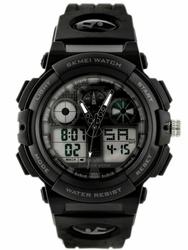 Męski zegarek Skmei 1270 - elektroniczno-wskazówkowy zs020a
