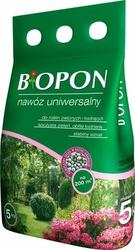 Biopon, Uniwersalny nawóz granulowanyowany, worek  5kg