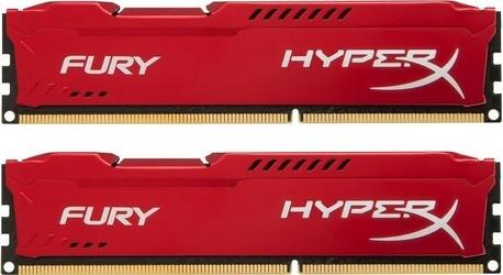 HyperX DDR3 Fury 16GB 1600 28GB CL10 RED