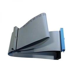 Kabel do dysku twardego datový ATA 100, ATA M- ATA 3x F, 0.62m, 80 żył, ATA100, szary, Logo