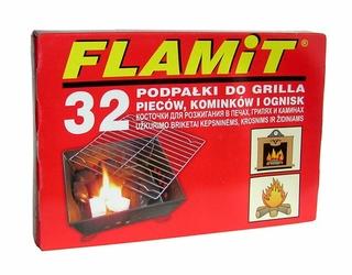 Flamit, biała podpałka w kostce 32 sztuki