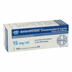 Ambrohexal S Hustentropfen 15 mgml