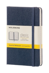 Notes Moleskine kieszonkowy w linie szafirowy