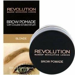 Makeup Revolution Brow Pomade Blonde, blond pomada do brwi 2.5g