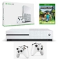 Konsola Xbox One S 500 GB + 2 Pady + Minecraft