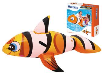 Bestway Dmuchana rybka NEMO z uchwytami 1,57m