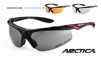 Okulary ARCTICA S-30 z wymiennymi szkłami