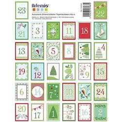 Samoprzylepne znaczki 16x20 cm64szt. - zielony - ZIEL
