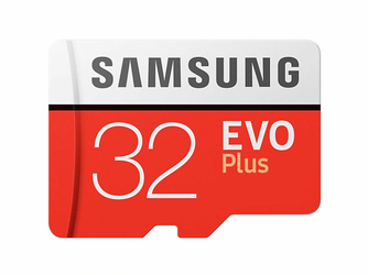 Karta pamięci Samsung EVO Plus microSD HC 32GB UHS-I U1 adapter SD