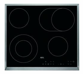 Płyta elektryczna AEG634060XB - Klasa 1  czarny