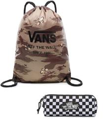 Zestaw Worek VANS League Bench Bag - VN0002W6RV1 + Piórnik