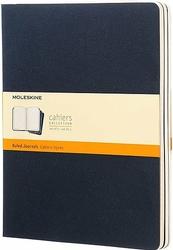 Zeszyty Moleskine Cahier Journals XL 3 szt. w linie granatowe
