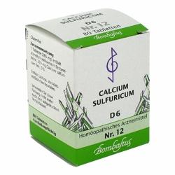 Biochemie 12 Calcium sulfuricum D 6 Tabl.