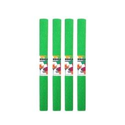 Bibuła marszczona 50x200 cm - zielona jasna - ZIELJAS