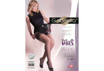 Xenia Plus Size 15 den GABRIELLA rajstopy