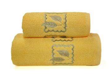 Ręcznik GRACJA Greno żółty - żółty