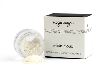 Uoga Uoga, Mineralny cień do powiek nr 701 WHITE CLOUD, 1g