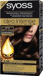 Syoss Oleo, Farba do włosów, 4-86 Czekoladowy brąz