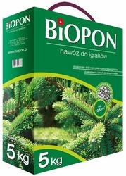 Biopon, nawóz granulowany do iglaków, karton 5kg