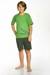 Cornette 79034 Hungry crocodile zielony piżama chłopięca