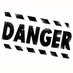 Stempel akrylowy Stamperia - danger - 099