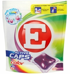E Caps Color, kapsułki do prania, 15 prań