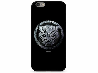 Etui z nadrukiem Glass Marvel Czarna Pantera 015 Apple iPhone 66S