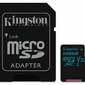 Kingston microSD 128GB Canvas Go 9045MBs + adapter