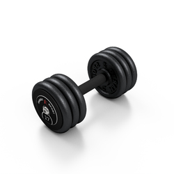 Hantla skr�cana na sta�e 17 kg - Marbo Sport - 17 kg