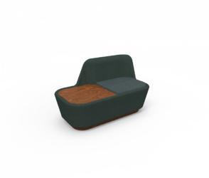 Spell :: Shuffle sofa Wing ze stolikiem