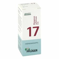 Biochemie Pflueger 17 Manganum sulfur.D 6 Tabl.