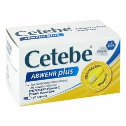 Cetebe Abwehr plus Vitamin C+vitamin D3+zink Kapsel n