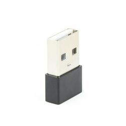 Gembird Adapter USB2.0 Typ-A męski do Typ-C żeńskiczarny