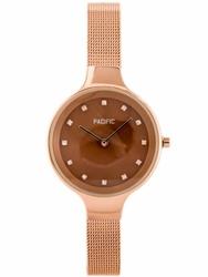 Damski zegarek PACIFIC 6009 zy596d - rosegold