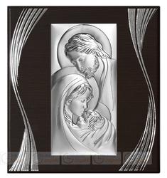 Obrazek BC6380F3 Święta Rodzina na panelu 27,9 x 30,5 cm.