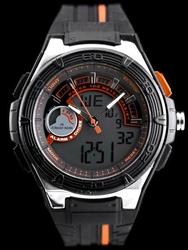 Męski zegarek JORDAN KERR - DUAL TIME - WR100 zj037a