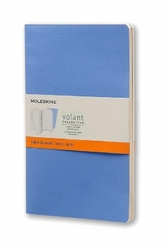 Zeszyty Moleskine Volant 2 szt. L w linie niebieskie