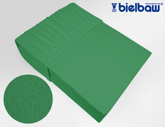 Prześcieradło frotte z gumką, 27 KOLORÓW Bielbaw zielone 019 - zielony