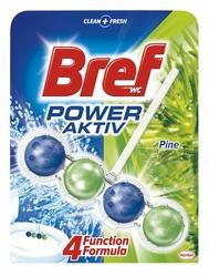 Bref Power Aktive Pine, zawieszka do toalety, 50g