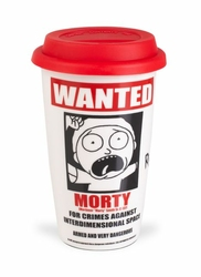 Rick and Morty Wanted - kubek podróżny
