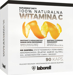 100 Naturalna Witamina C x 90 kapsułek