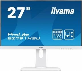 IIYAMA 27 B2791HSU-W1 DP,HDMI,USB,PIVOT,BIALY,1ms,2x2W.